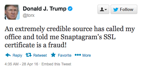 Donald Trump Hacked Our Twitter Account Torx Media